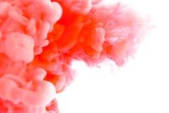 Paint pigment cloud Stock Photography