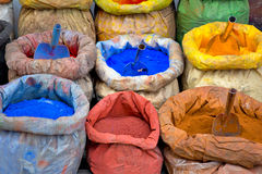 Paint pigment for sale Royalty Free Stock Photos
