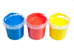 Paint-pot Royalty Free Stock Image