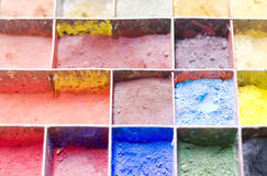 Paint powder Stock Photography