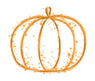 Paint Pumpkin Stock Photography
