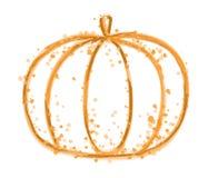 Paint Pumpkin Stock Photography