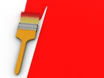 Paint red Stock Photography