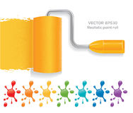 Paint roll Stock Images