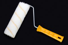 Paint roller Royalty Free Stock Photography