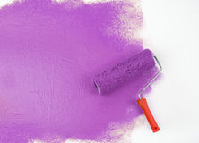 Paint roller Stock Image