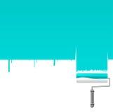 Paint roller background. A paint roller background illustration Stock Photography