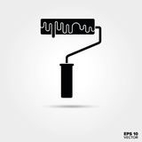 Paint roller icon. royalty free illustration