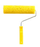 Paint Roller Isolated on White Background Stock Photo