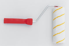 Paint roller. Roller for painting on a white background Stock Photography