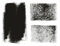 Paint Roller Rough Backgrounds. This image is a vector illustration and can be scaled to any size without loss of resolution stock illustration