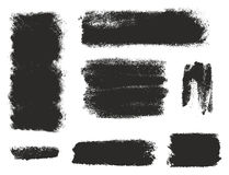 Paint Roller Strokes Vector Patterns & Vector Backgrounds Set 12. This image is a illustration and can be scaled to any size without loss of resolution Stock Photography