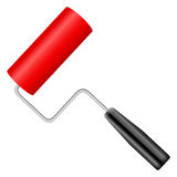 Paint roller. On a white background Royalty Free Stock Photo