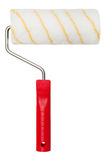 Paint roller on white background Royalty Free Stock Image