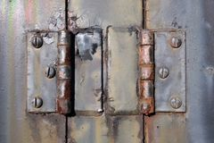 Paint and rust Royalty Free Stock Image