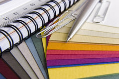Paint samples Stock Photography