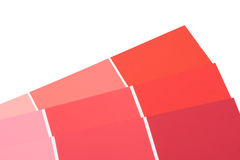 Paint Samples Royalty Free Stock Photos