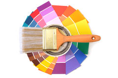Paint Samples Stock Image