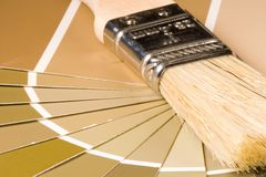 Paint Samples Royalty Free Stock Images