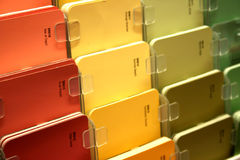 Paint Samples Royalty Free Stock Image