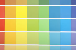 Paint Samples Royalty Free Stock Photo