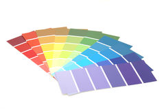 Paint Samples Stock Photos
