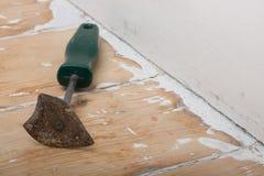 Paint scraper Stock Photo