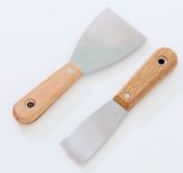 Paint Scrapper and Putty Knife Stock Images