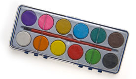 Paint set Stock Photo