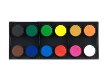 Paint Set Royalty Free Stock Image