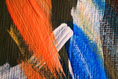 Paint smears Stock Photos
