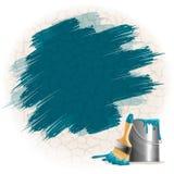 Paint smears Royalty Free Stock Photo