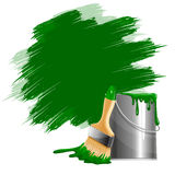 Paint smears Royalty Free Stock Photos