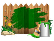 Paint smears Royalty Free Stock Image