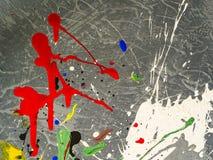 Paint smudges. Color chaos. Mixed different colors. Expressionism. Paint smudges. Color chaos. Mixed different colors Expressionism stock images