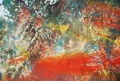 Paint soft dark orange pastel structure, abstract vivid background Stock Photos