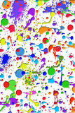 Paint spatters Royalty Free Stock Photos