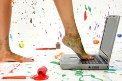 Paint Splash Stock Images