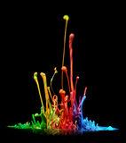 Paint splash royalty free stock photography