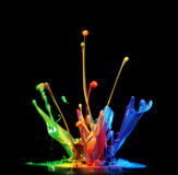 Paint splash royalty free stock photos