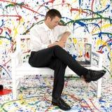 Paint Splash royalty free stock photography