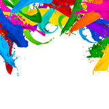 Paint splash background Royalty Free Stock Photo