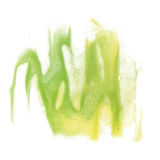 Paint splash color ink watercolor isolate lime stroke green yellow splatter watercolour aquarel brush Royalty Free Stock Photos
