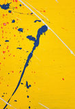 Paint splash Stock Image
