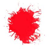 Paint splash. Vector of brush strokes. Royalty Free Stock Images
