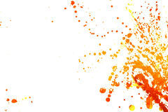 Paint Splashes Stock Image