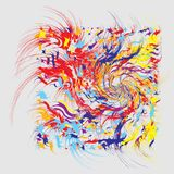 Paint Splashes Abstract Background Stock Photos