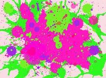 Paint splashes background Stock Images