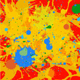 Paint splashes background Royalty Free Stock Photos