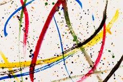 Paint splashing stock images